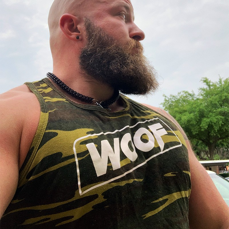 WOOF Muscle Camo Tank Top