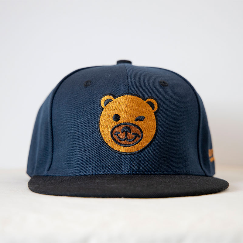 BearFace Snapback Cap